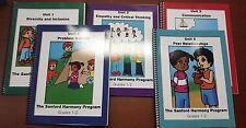 The Sanford Harmony Program Grades Grades 1-2 Unit 1-5 (E1-18)