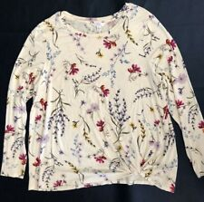 New listing time and tru tops xl Long Sleeve Very Soft Knot Crew Tee