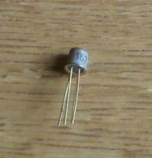 6 transistores Bf 167 (= nos = NPN 30 V 25 ma 125 MW 600 MHz to72)