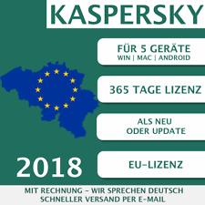 Kaspersky Internet Security 2018 DE 5 Geräte, 5 PC Multi-Device KEY ESD