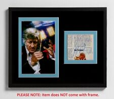 Jon Pertwee Matted Autograph & Photo! Doctor Who! 3rd Doctor! Sci-Fi! Rare!
