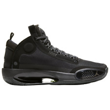 Brand New Men's Nike AJ Air Jordan XXXIV Athletic Basketball Sneakers | Black