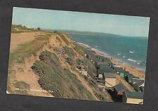 c1970s View of the Beach Hut & Cliffs, Milford-on-Sea