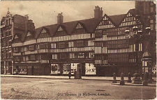 Royaume Uni - Old houses in Holborn, LONDON (H8862)