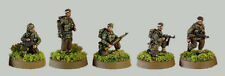 Tqd Pp5 20mm Diecast Wwii Polish Paratroopers Bare Headed-Mixed Poses
