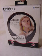 UNIDEN BLUETOOTH HEADPHONES UN173 - WITH MIC - HANDS FREE PHONE