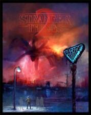 Cliff Cramp Stranger Things 2 Glow in the Dark Poster Demogorgan Upside Down