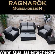 Moderne Garten-Garnituren & -Sitzgruppen aus Rattan mit mehr als 8 Teilen