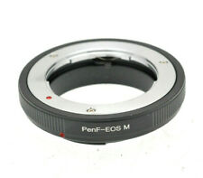 Olympus PEN F lens To fit Canon EOS M EF-M Mount Mirrorless Adapter M2 M3 M10