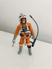Star Wars TLC The Legacy Collection Luke Skywalker Snowspeeder 3,75' Incomplete