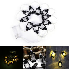 10 Lantern Shape Battery Operated 1m LED Fairy Lights String Outdoor Wedding