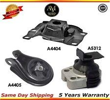 Transmission Motor Mounts Front Right Rear Set Kit 2.0 L For Mazda 3