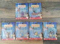 Set 6 x Disney Pocahontas Boxed Collectible Characters NEW John Smith Ratcliffe
