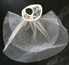 Tulle Lace Cap Bridal Veil 8� Betsy McCall American Character 1958 Petite Tiny