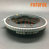 FOTOFOX Contax G CYG Lens to For Canon EOS R RF mount full frame mirrorless