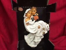 Bride And Groom Black And White Bottle Stopper By Miko