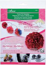 Clover Large Size Flower Frill Template For Crafts Flower Maker Tool