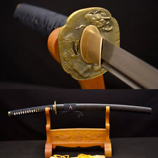 KO-KATANA 8196 layers Dasmacus Oil Quenched Blade JAPANESE SAMURAI DRAGON SWORD