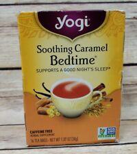 Yogi Tea Soothing Caramel Bedtime Night Sleep Natural Herbal Supplement 16 Bags