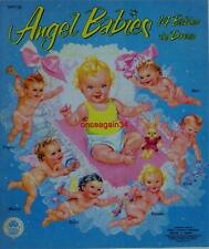 Vintage Uncut 1953 Angel Babies Paper Dolls~#1 Reproduction~Adorable!