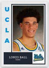 LONZO BALL 2016-17 UCLA BRUINS CUSTOM ROOKIE CARD 2017 NBA Draft #1 Pick