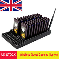 Retekess T111 20 Restaurant Pager Guest Call Wireless Paging Queuing System UK