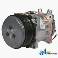 Compressor, New, Sanden Style with Clutch (8100) 82016158