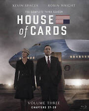 House of Cards: Season 3 [Blu-ray] Widescreen, Closed-captioned New and Sealed!