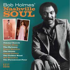"BOB HOLMES' NASHVILLE SOUL  ""60's & 70's NASHVILLE SOUL & R&B""  CD"
