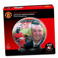 Manchester United Football Club 3D Jigsaw Puzzle Ball Paul Lamond