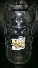 RARE COLLECTABLE HB HOFBRAUHAUS 1 LITRE BEER MUG STEIN BRAND NEW