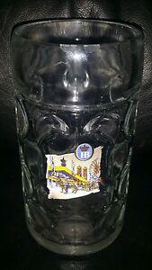 RARE COLLECTABLE HB HOFBRAUHAUS 1 LITRE BEER MUG STEIN BRAND NEW