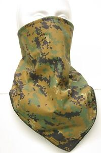 Windproof fleece Woodland Digital camo bandana military fierce face protection