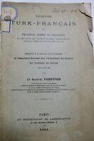 Vocabulaire Turk-Français des principaux termes de géographie 1884