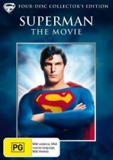 Superman - The Movie (DVD, 2006, 4-Disc Collectors Set) NEW & SEALED   D4755