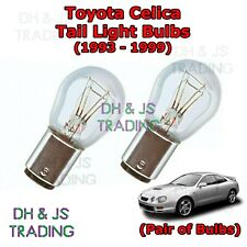 Toyota Celica Tail Light Bulbs Pair of Rear Tail Light Bulb Lights (93-99)