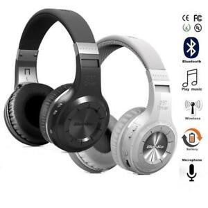 Bluedio Turbine Hurricane H Bluetooth 4,1 auriculares estéreo inalámbricos