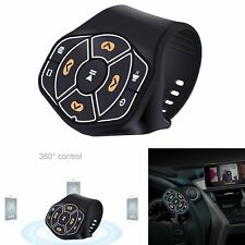 Wireless Remote Control Bluetooth Media Button For iPhone Samsung Car/Bike Mount