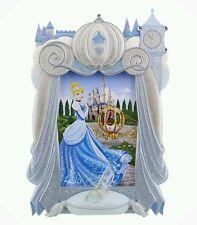Disney Parks Princess Cinderella Glass Slipper Carriage Picture Photo Frame