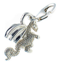 Sterling 925 Solid Silver British Charm Dragon Clip on by Welded Bliss