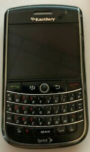 READ FIRST BlackBerry Tour 9630 Black (Sprint) Fast Ship Very Good Used Vintage