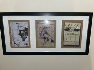 Jean Michel Basquiat X Reebok Post Cards Art Affiliates Collaboration RARE ART
