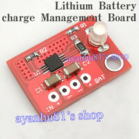 Single Cell Lithium Battery Charging Board Solar Charger Charge max 900MA CN3065