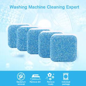5pcs/set Solid Form Washing Machine Cleaner,Wash Warrior Washing Machine Tablets