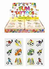 Football Themed Fun Tattoos by Henbrandt - Full Box (576 tattoos)
