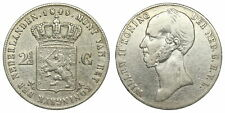 Netherlands - 2½ Gulden 1845