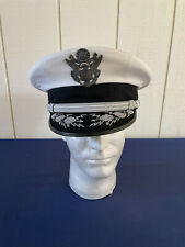 1970s U.S Air Force Senior Officers Cap with Hat Badge and Embroidered Brim