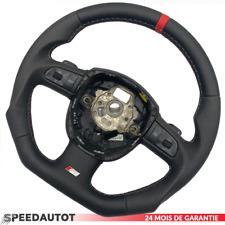 S LINE Aplati Volant Multifonction Volant Cuir Noir Audi Q5 A3 A4 A6 A5 DSG!