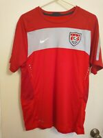 NIKE US National Soccer Team Game Jersey Men's Size M DRI-FIT