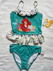 The Little MERMAID Ariel High Waist NWT BATHING SUIT SWIM Bottoms  SM